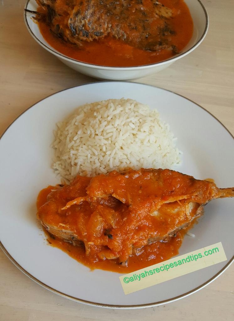 Nigerian Fish Stew Imoyo Stew Aliyah S Recipes And Tips Recipe Fish Stew Recipes Nigerian Recipes