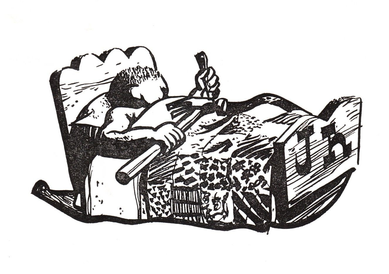 Illustration From John Henry And His Hammer
