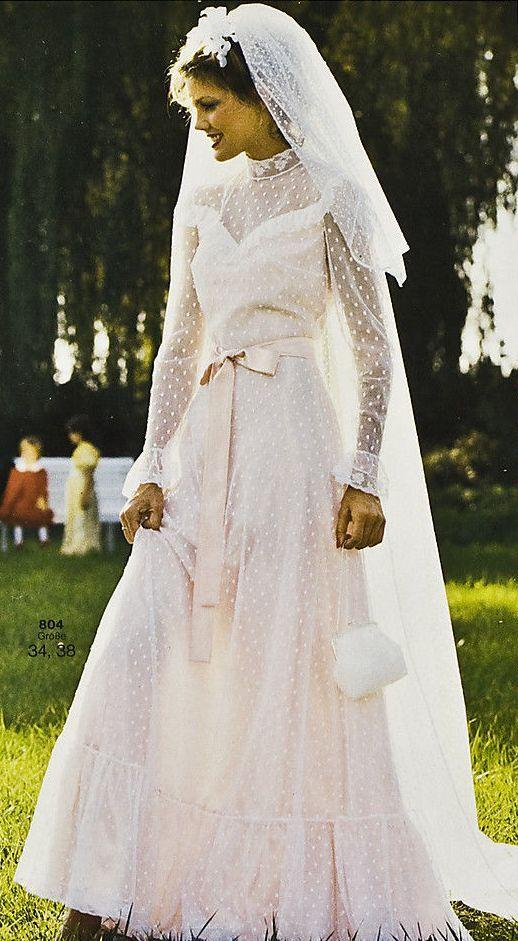 Burda Brautmode Sh 9 80 Retro Weddings90s