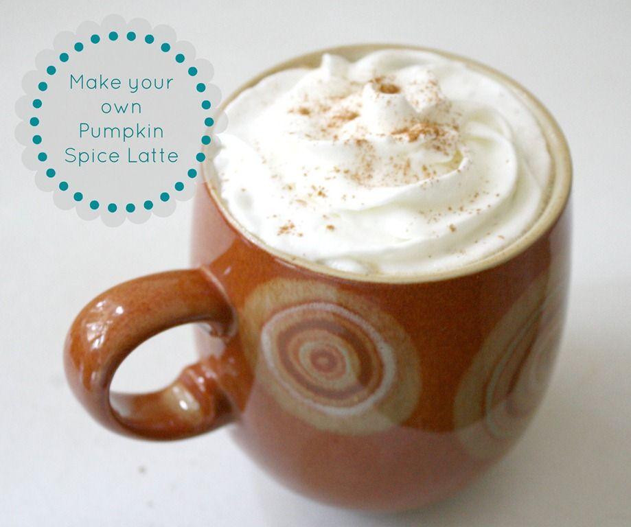 make your own pumpkin spice latte pinterest. Black Bedroom Furniture Sets. Home Design Ideas
