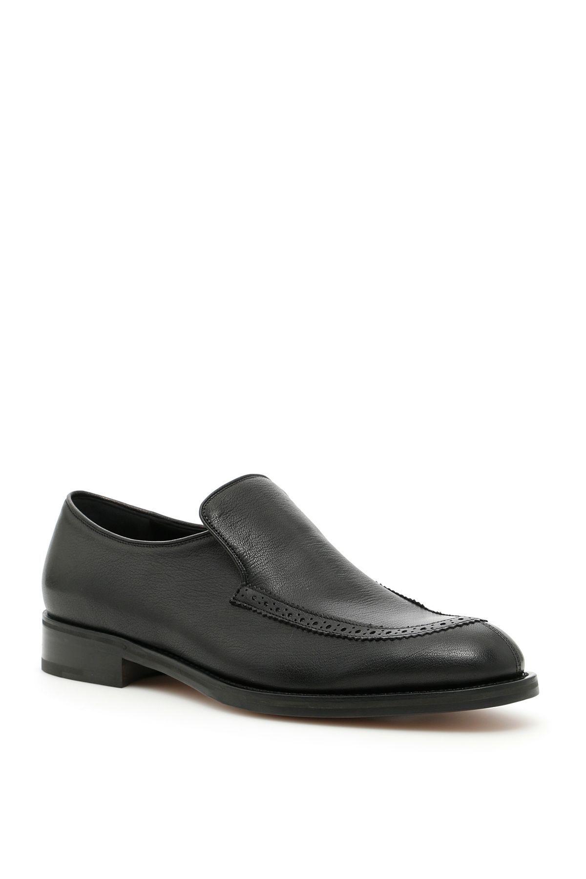 SALVATORE FERRAGAMO GOATSKIN DENTON MOCCASINS. #salvatoreferragamo #shoes #