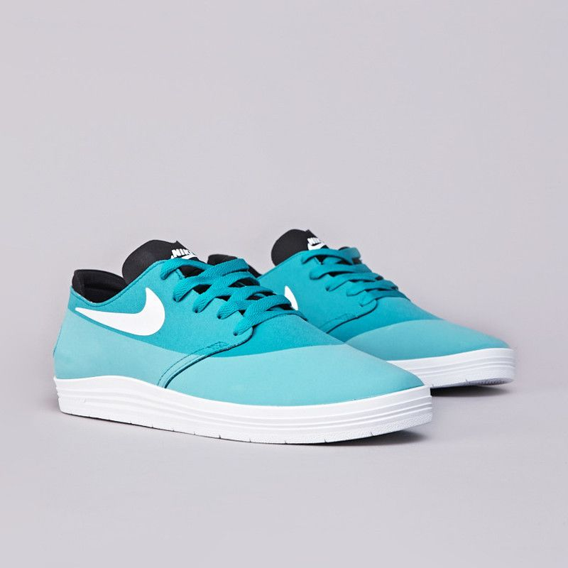 Flatspot - Nike SB Lunar Oneshot Turbo Green / White - Black