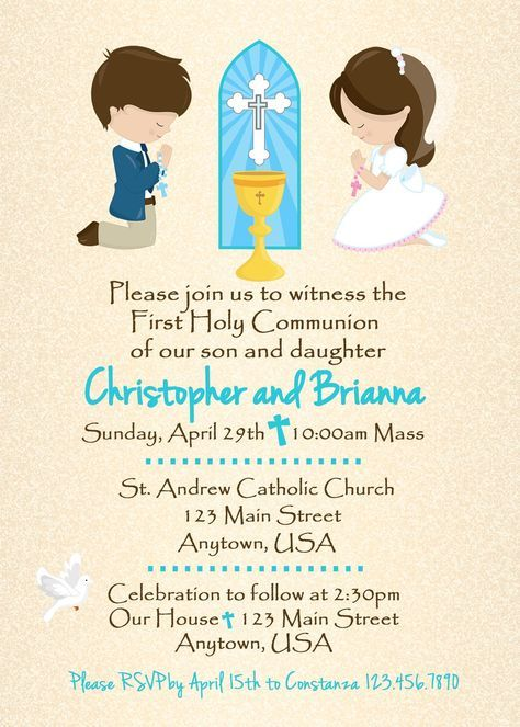 0777a90f26822 Communion Invitation