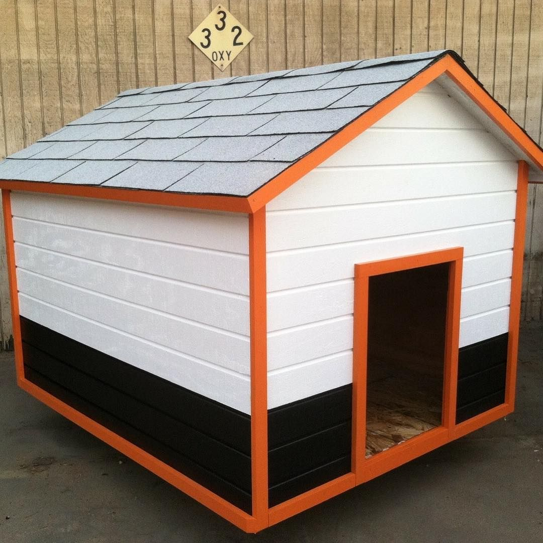Here S A Harley Davidson Themed Xxl Dog House I Made 48x60