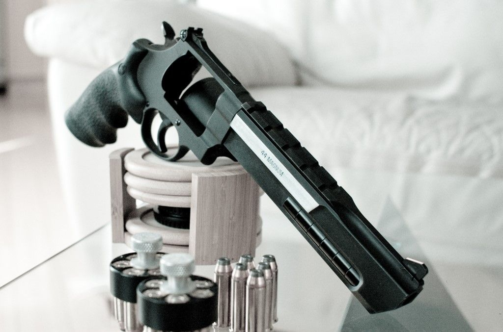 Smith & Wesson 629 PC.  44 Magnum