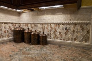 Showroom 2013 - traditional - kitchen tile - los angeles - by Kitchens Etc. of Ventura County