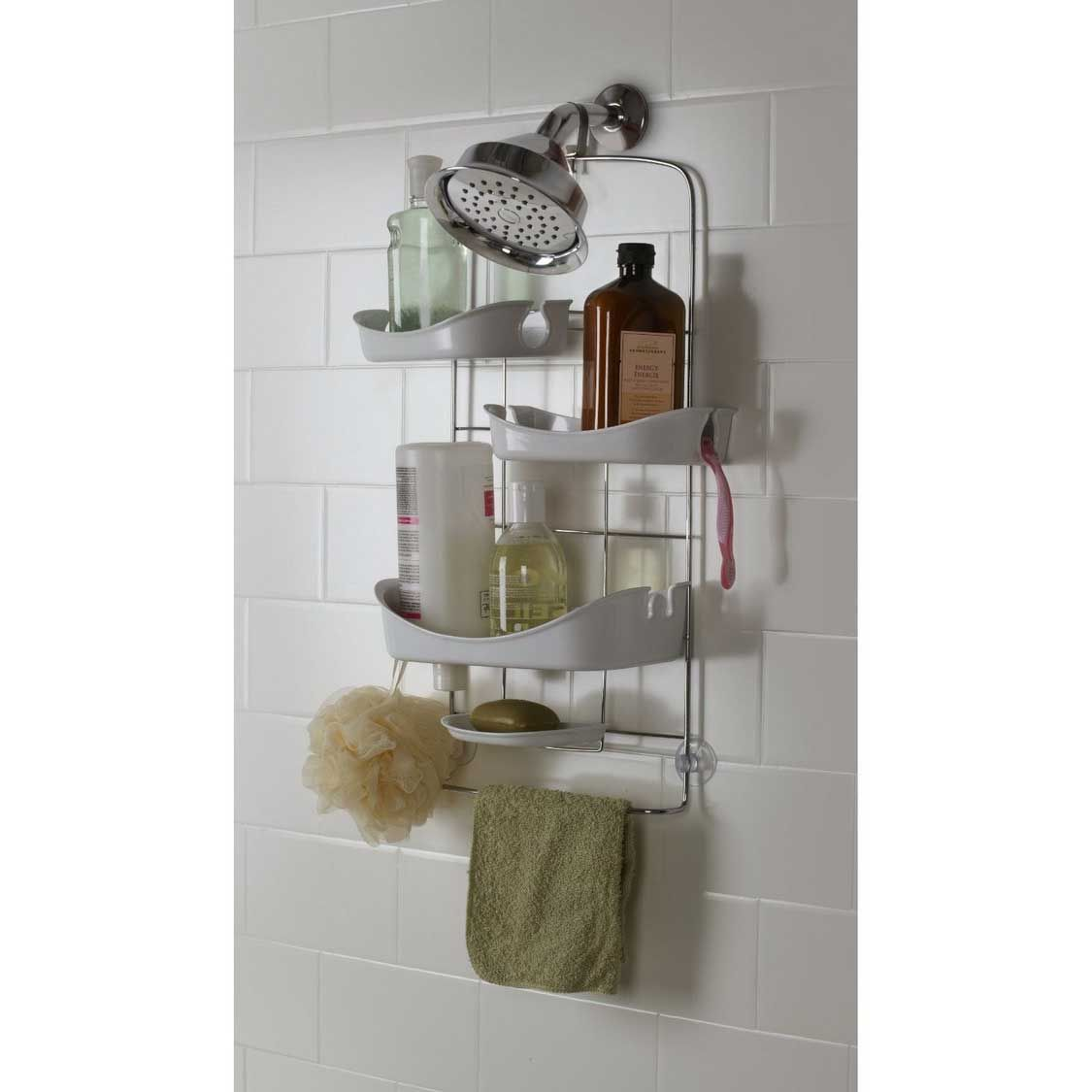 Trellis Shower Caddy For Better Bathroom Storage