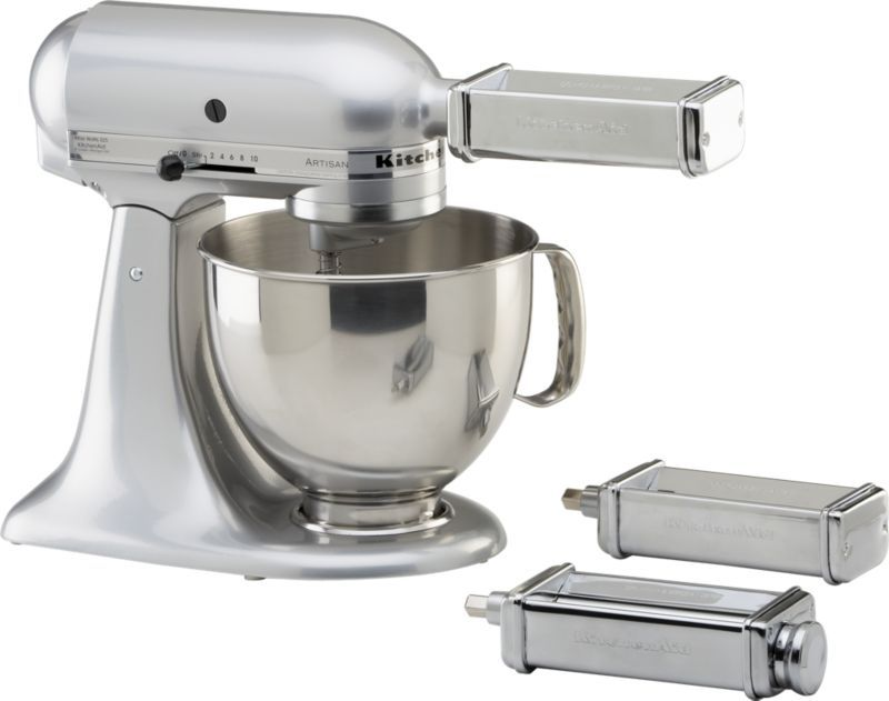 KitchenAid 3-Piece Pasta Roller and Cutter Set   Crate and ...