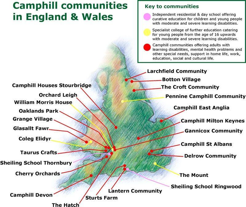 Resultado de imagen de Camphill síndrome de down