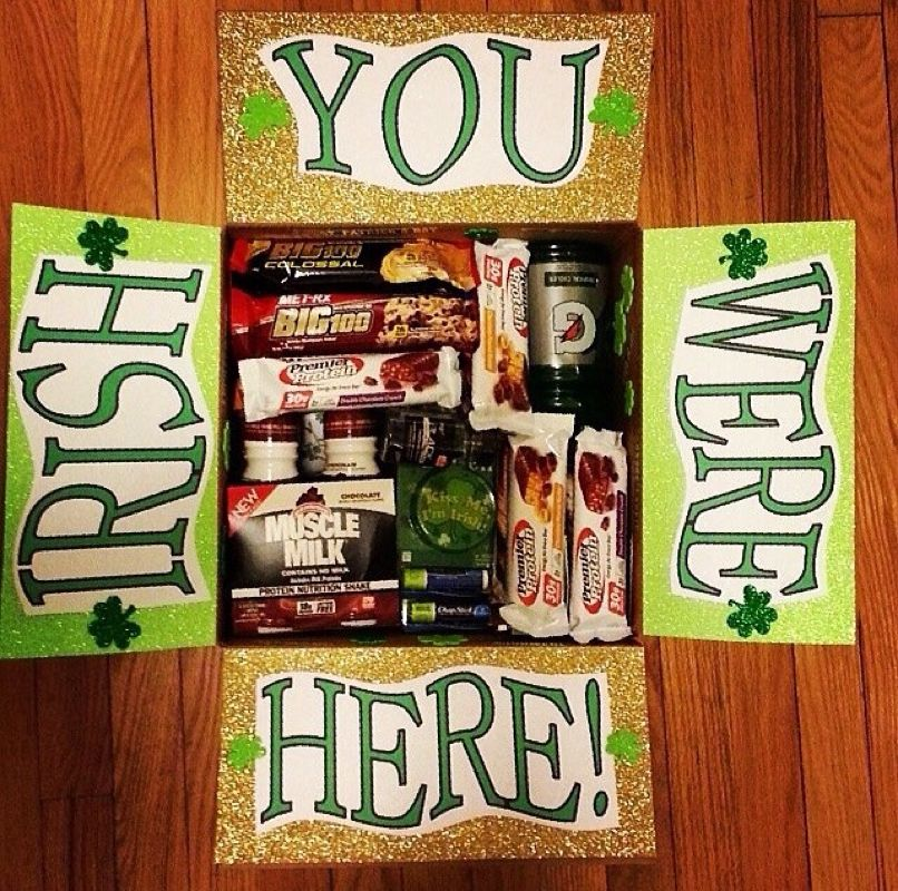 St.Pattys theme milso deployment carepackage