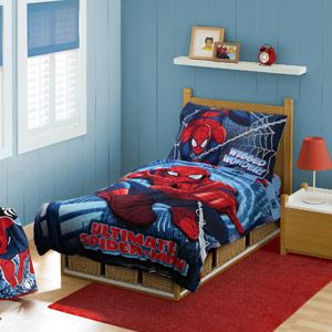Marvel Spider Man 4 Piece Toddler Bedding Set With Images