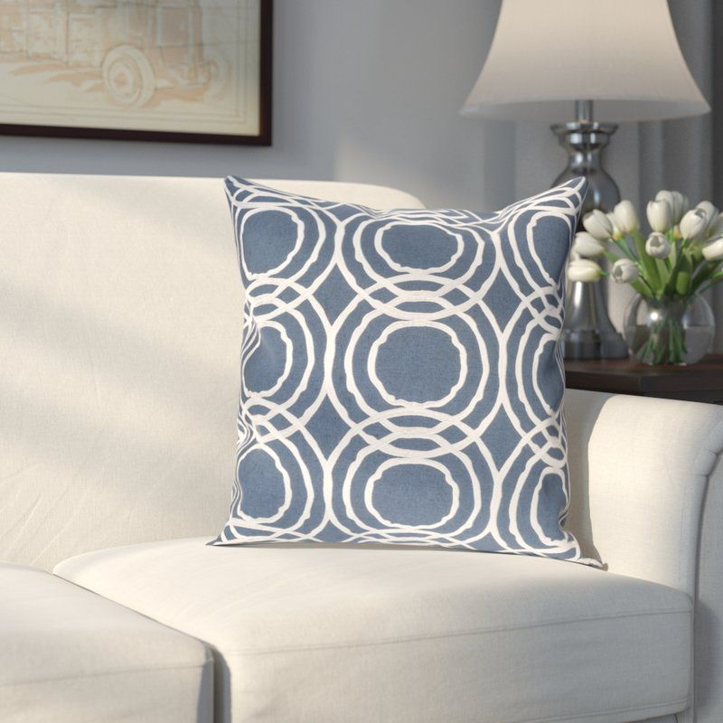 Meader Linen Geometric Square Pillow Cover In 2020 Throw Pillows Geometric Throw Pillows Modern Throw Pillows