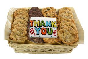 Thanks Gourmet Cookie Basket Cookies in Toronto Zelcovia Cookies