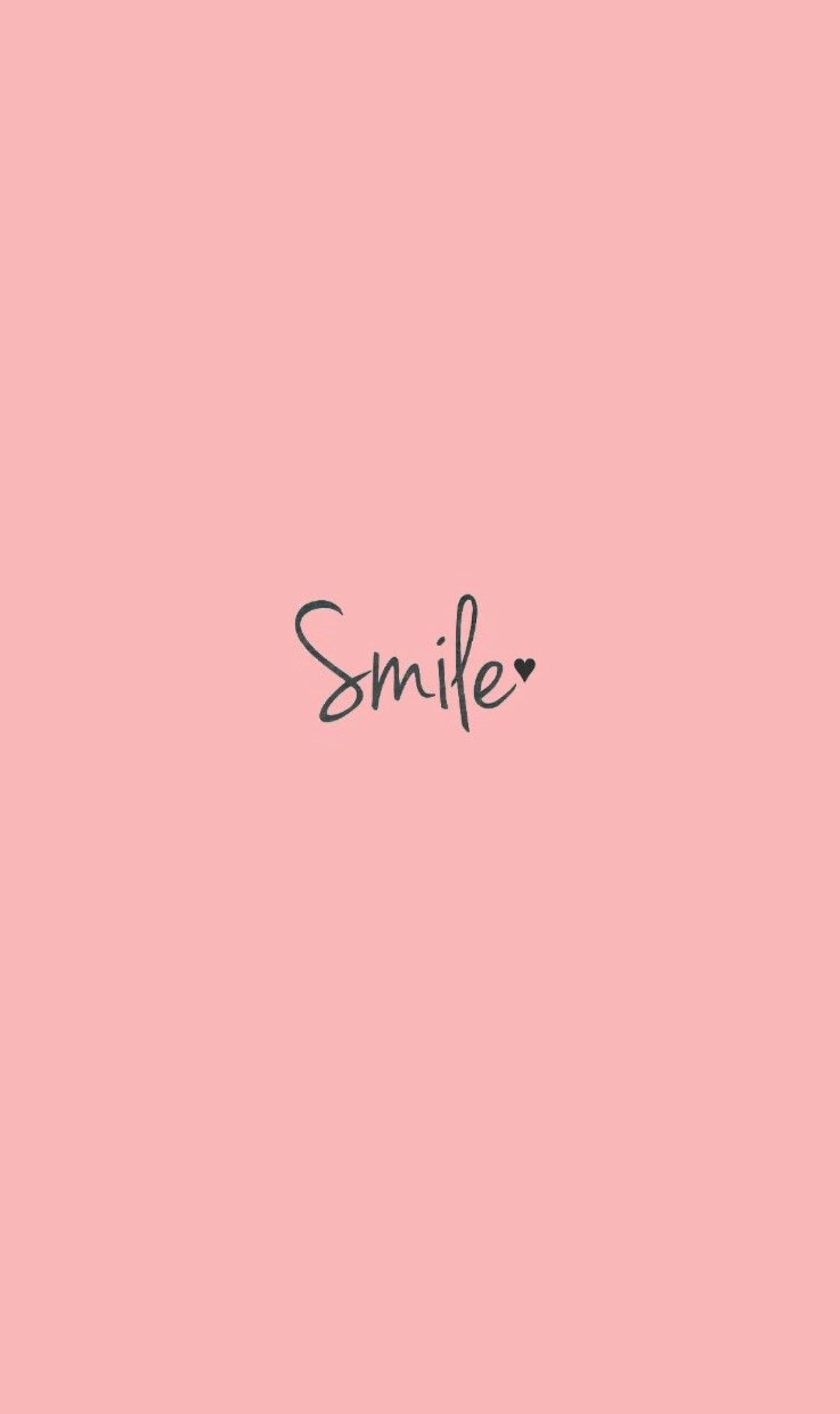 Best Vsco Girl Smile Text Wallpaper Wallpaper Coolphonewallpapers Phonewallpapers Mobilewall Apple Watch Wallpaper Cute Wallpapers Cute Wallpaper For Phone