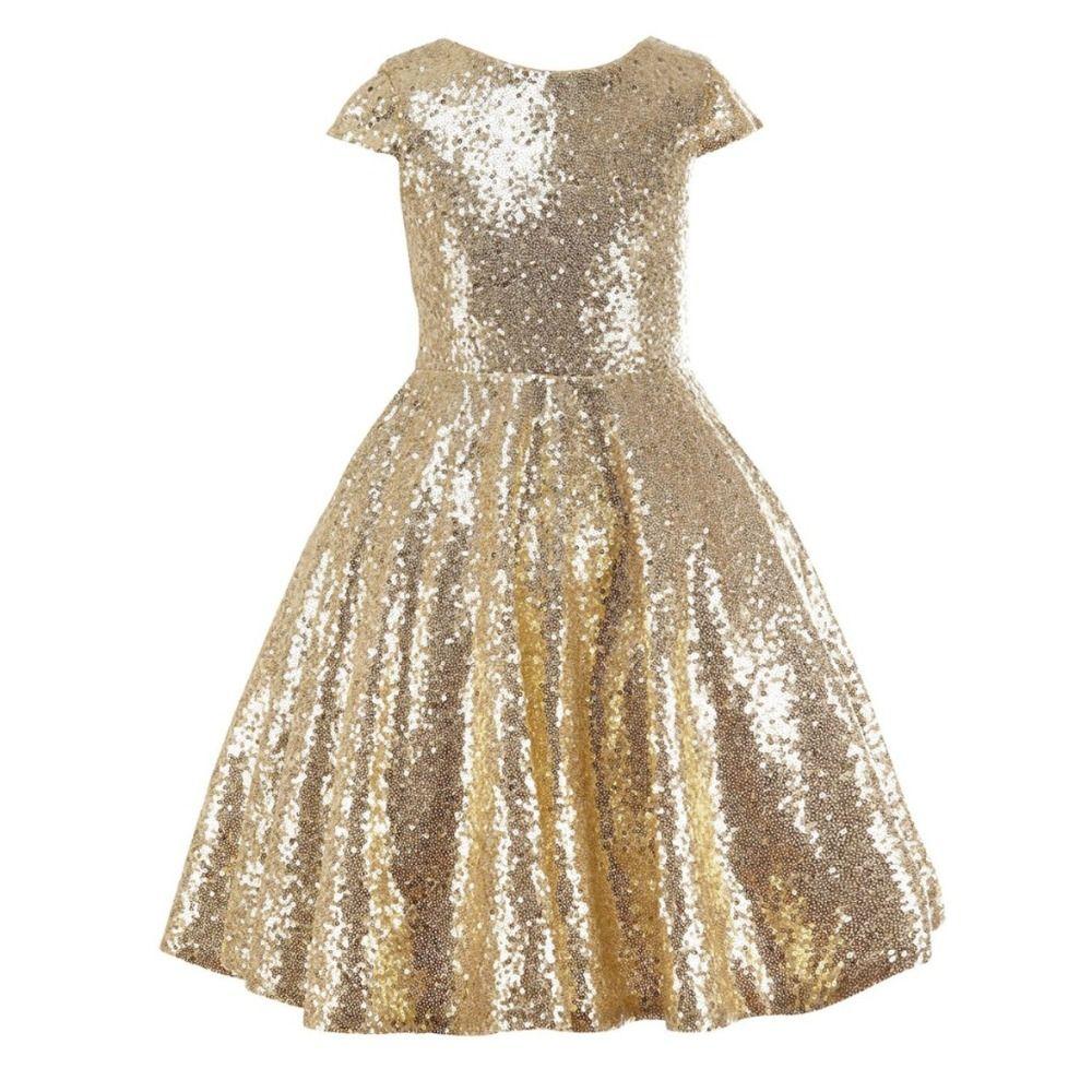 Free shipping buy best sequined short flower girl dresses short