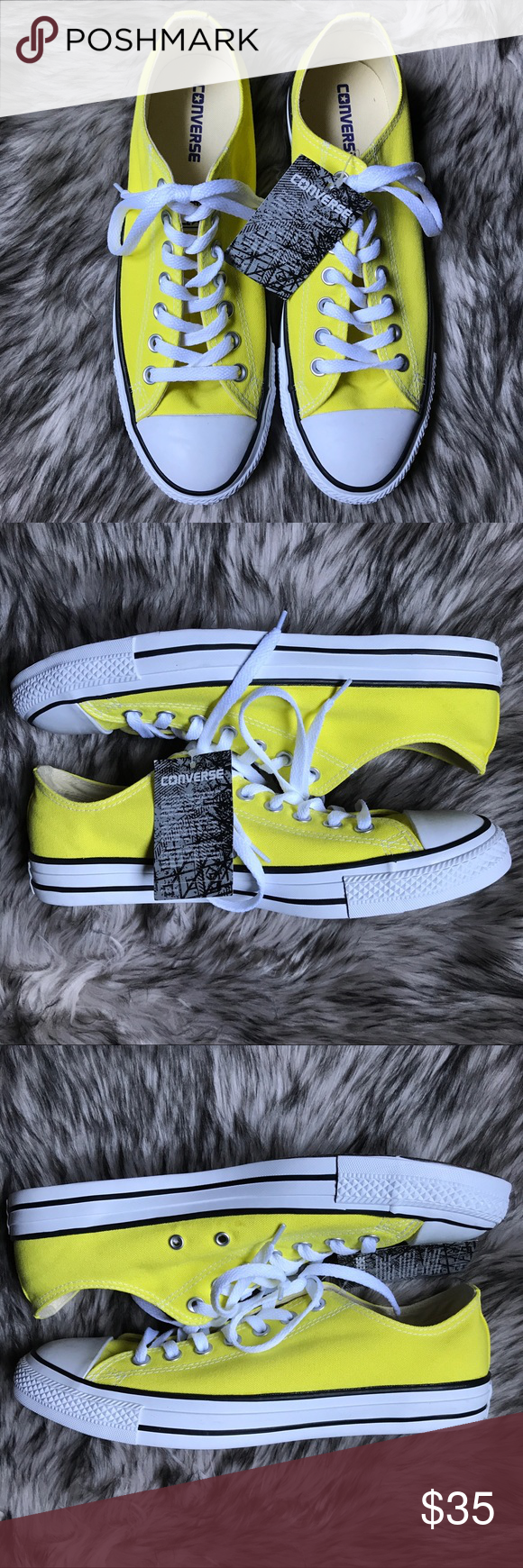 e99c0928e5134c Converse Chuck Taylor Fresh Yellow Low Top Sneaker NWT never been worn. No  scuffs or