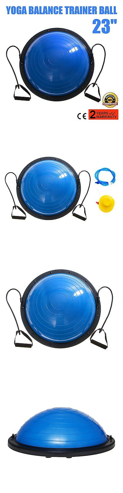 Balance Trainers 179803: Vevor Balance Trainer Ball 23 Inch Balance Trainer Blue Balance Ball Yoga Fit... BUY IT NOW ONLY: $64.36