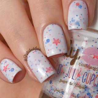 ily Cosmetics- Fourth of July Cupcake