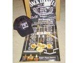 Jack Daniels Gift Set Apron, Shot Glasses Keychain, Game, Pen