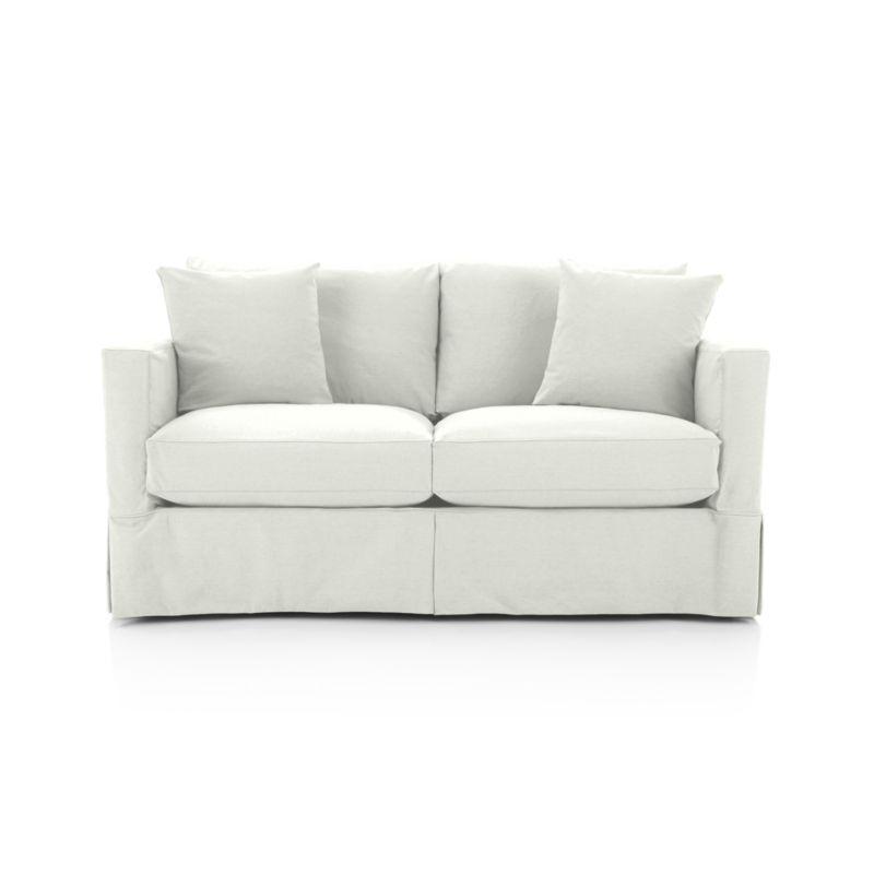 slipcover only for willow modern slipcovered apartment sofa rh in pinterest com