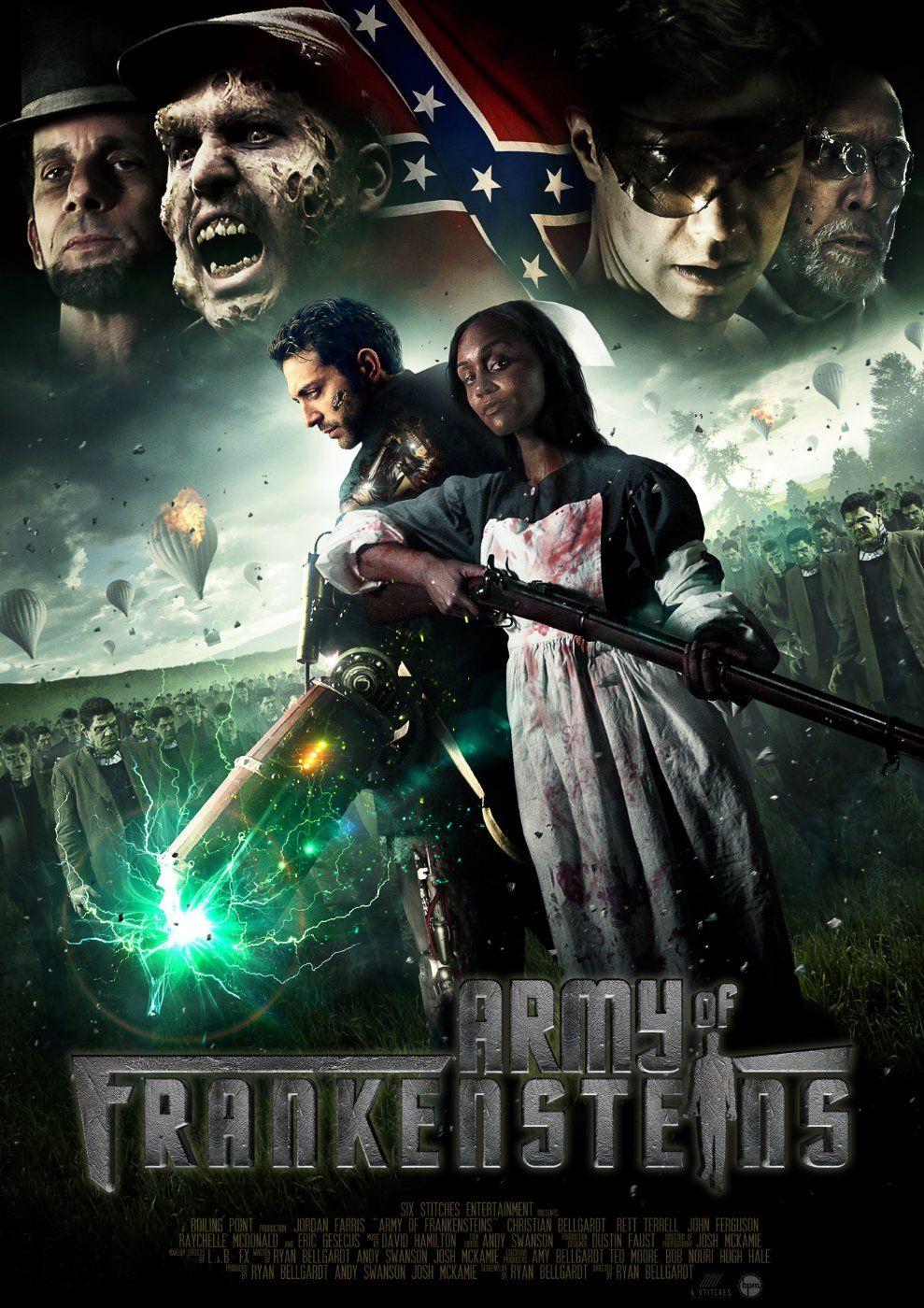 Army of Frankensteins (2013) Movie Review Horror movie