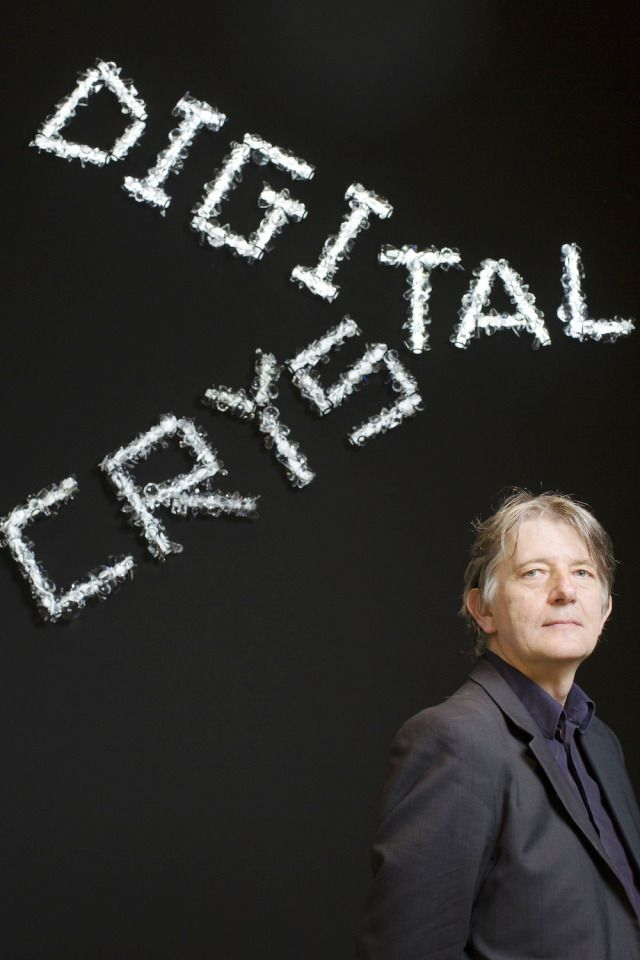 """Digital Crystal. Design Museum London and Swarovski collaborated to bejewel the bling world with the """"Digital Crystal"""" exhibition. Deyan Sudjic - Design Museum curator."""