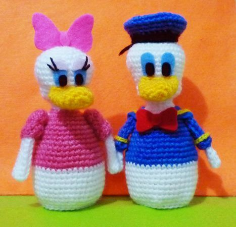 Crochet Egg Cozy Daisy Donald Duck Finish By Darmianidesign