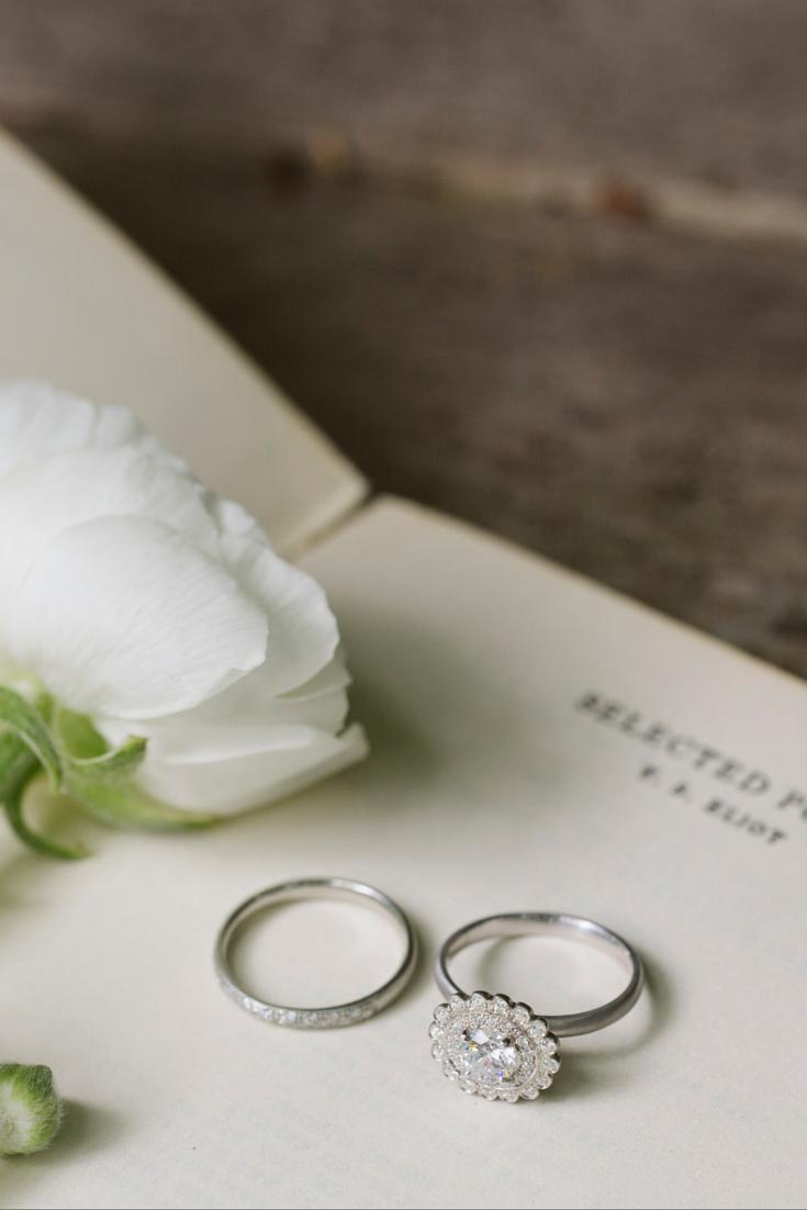 beautiful vintage ring set