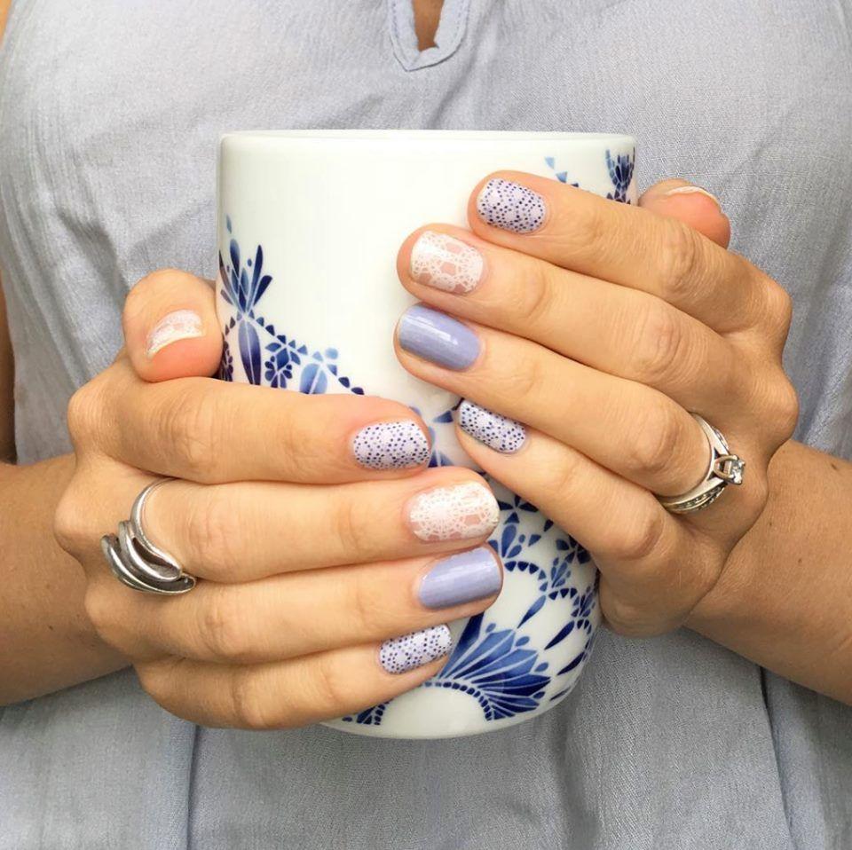 Beachside blue hippie chic tidepool skincare pinterest nails