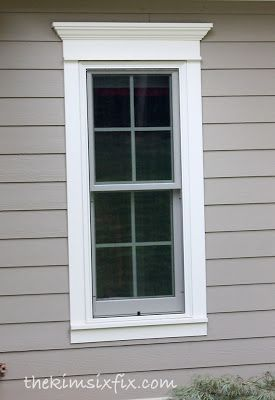 How To Use Trim To Update Exterior Doors And Windows Window Trim Exterior Window Shutters Exterior Windows Exterior