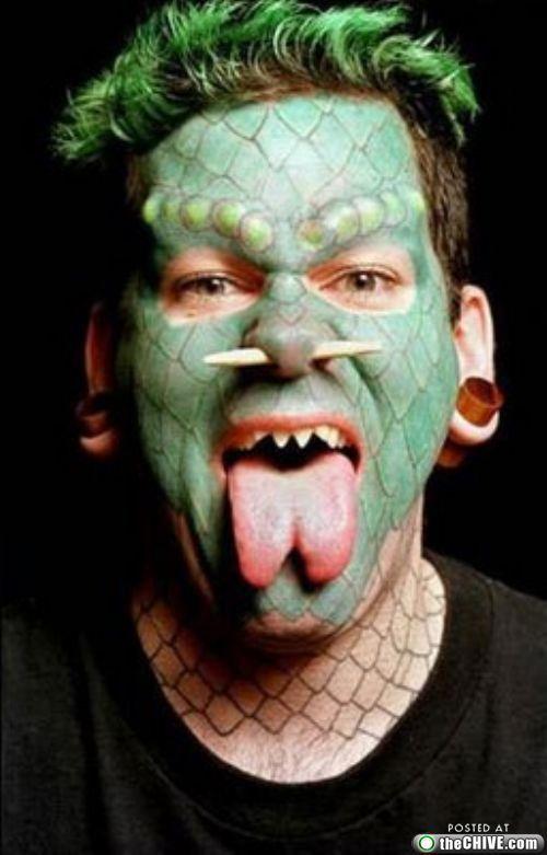 "Erik Sprague ""The Lizardman"" | bm | Pinterest | Body ..."
