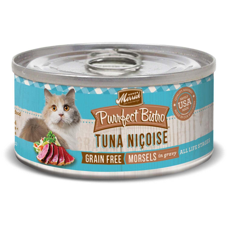 Merrick Purrfect Bistro Grain Free Tuna Nicoise Wet Cat Food 5 5