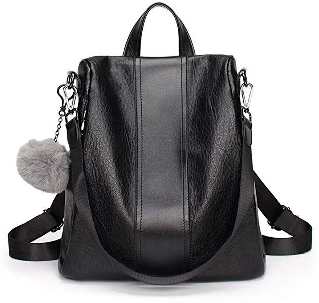 ab9a5d6c8f0 Fashion Backpack for Women,Yun&Luo Ladies Travel Purse PU Leather ...