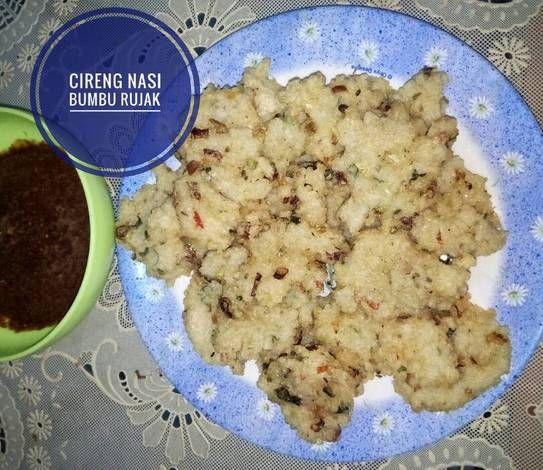 Resep Cireng Nasi Oleh Dini Santi Resep Cemilan Resep Masakan