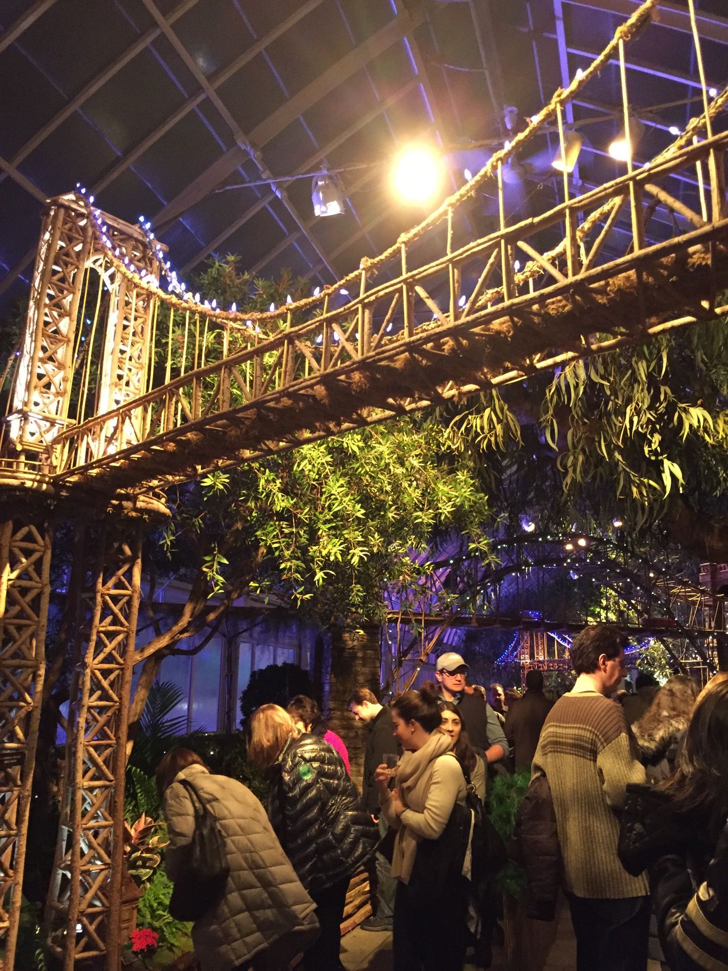 Holiday Train Show At The New York Botanical Garden in Bronx, NY ...