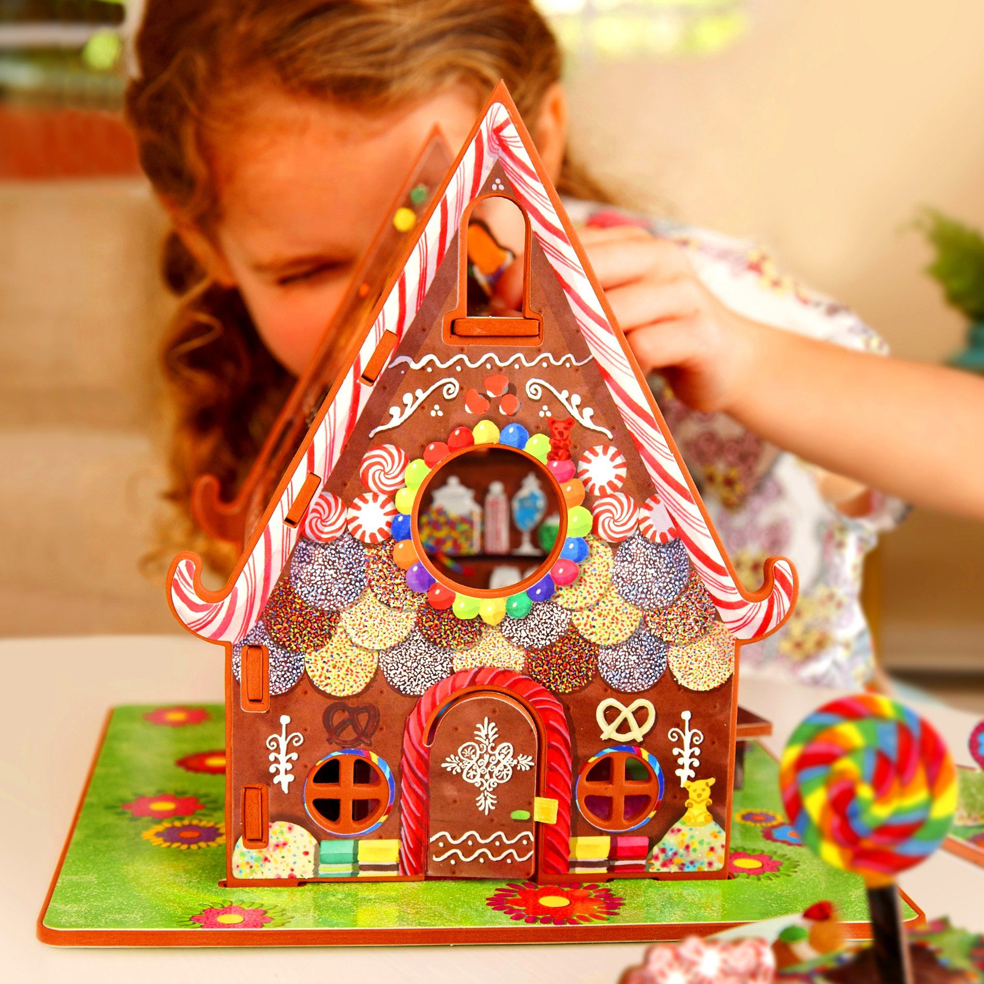 Hansel and Gretel Candy house, Preschool toys, Toy house