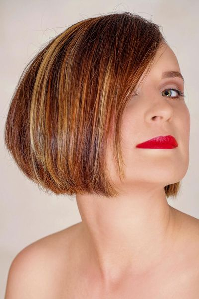 A Line Bob Mit Kurzem Nacken Hair Growth Bob Hairstyles Hair