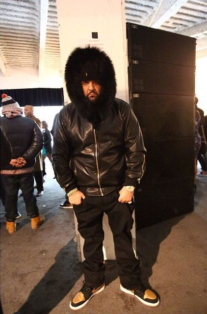 0f27ab78c75 DJ Khaled wearing Air Jordan I 1 Melo All Jordans