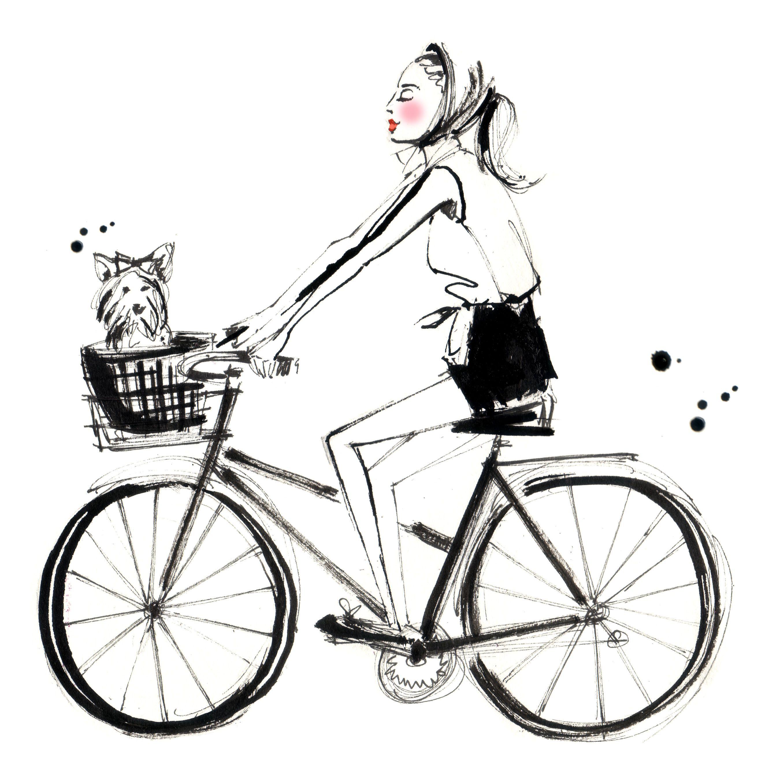So Cute I Love It Inspiration Bike Drawing Bike