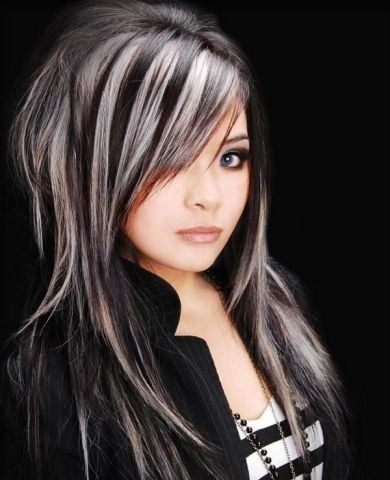 highlights for grey hair - Google Search | Beauty | Pinterest ...