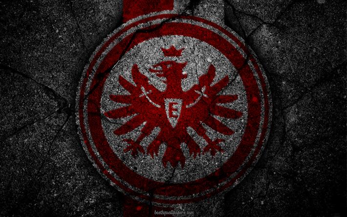 Download Wallpapers Eintracht Frankfurt Logo Art Bundesliga