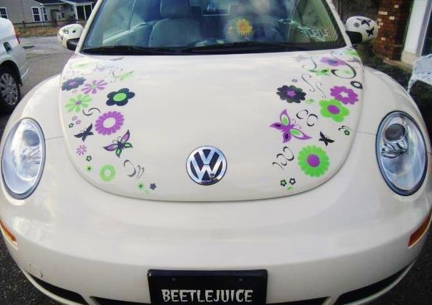 Image Result For Flower Power Decals For Truck Cap Camper Ideas