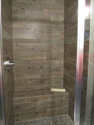 The Tile Shop Wooden Tile Shower My Favorite For