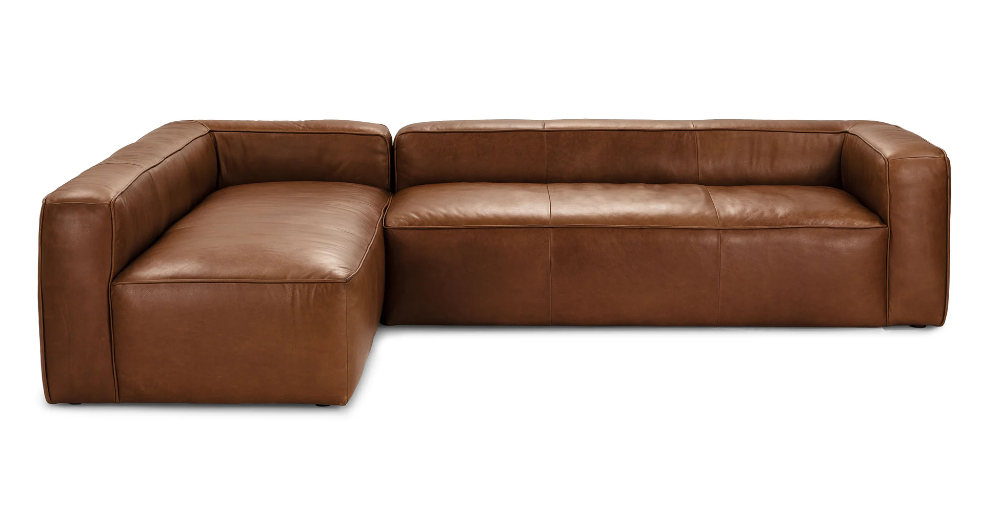 Best Mello Taos Brown Left Arm Corner Sectional In 2020 Mid 400 x 300