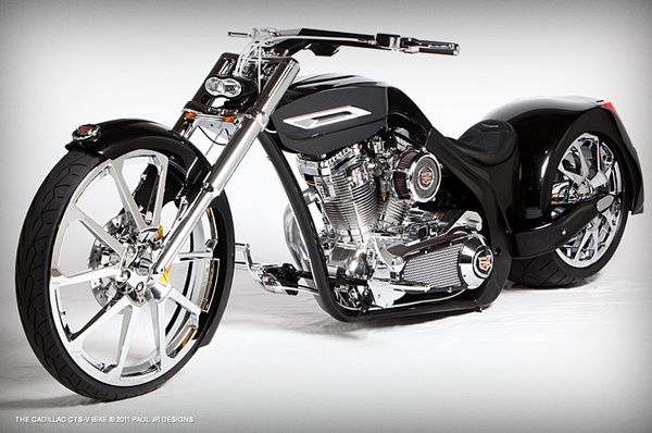 The Cadillac Bike - Paul Jr Designs