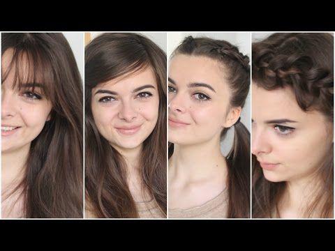 How To Hide Bangs Youtube Hide Bangs Cute Hairstyles Vintage Hairstyles Tutorial