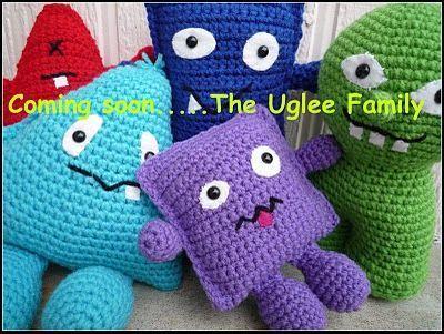 Baby Uglee - free crochet pattern ༺✿ƬⱤღ http://www.pinterest.com ...