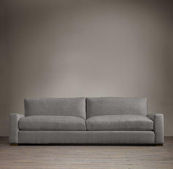 RHs Maxwell Upholstered Sleeper SofaMaxwells streamlined design
