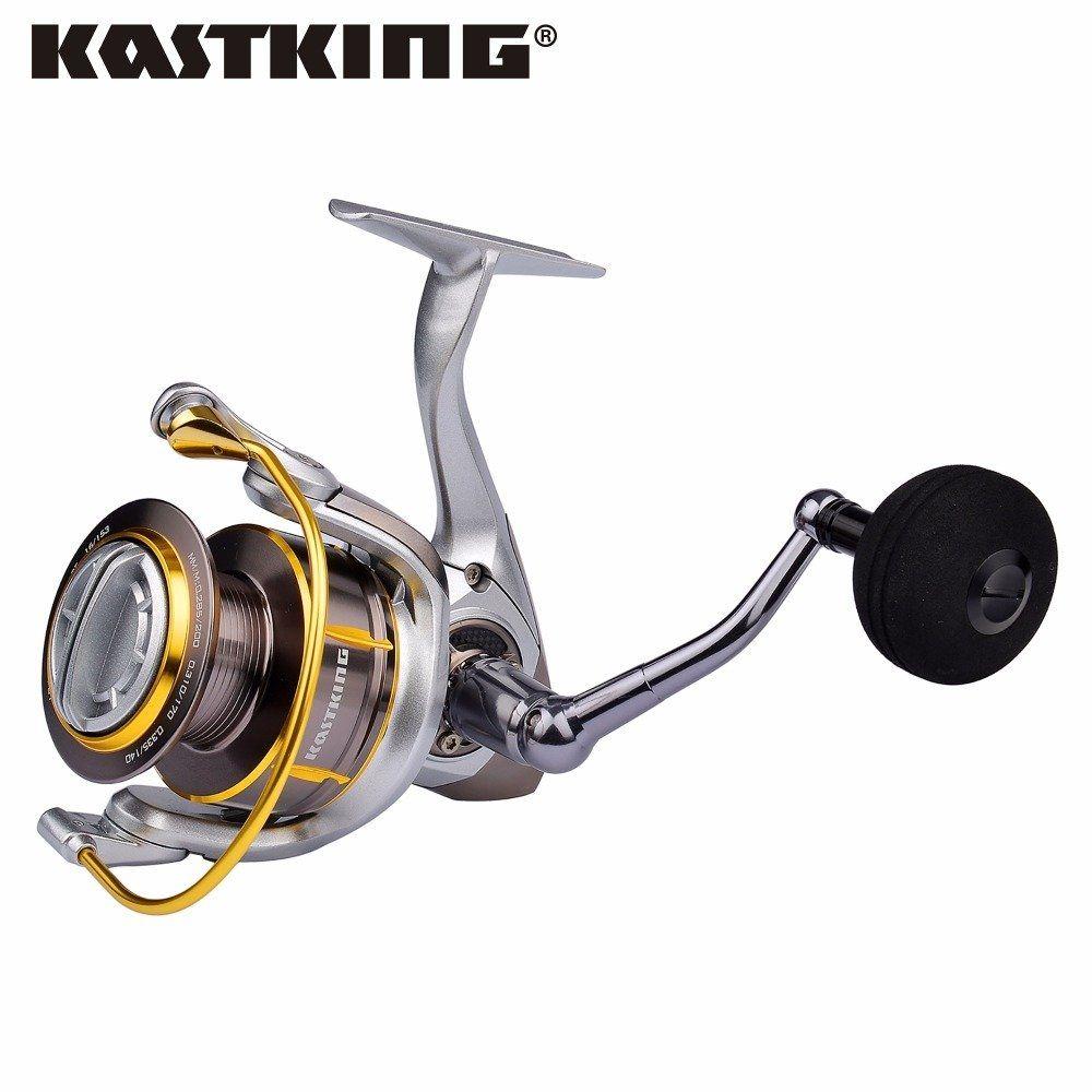 KastKing Kodiak Saltwater Spinning Reel Full Metal Body