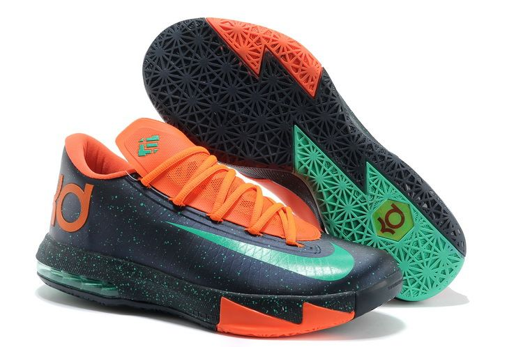 Navy orange 599424 500 Mens Nike Zoom KD 6 Shoes store sell the cheap Nike  KD VI online, it is high quality Nike KD VI sneakers and we offer it with  fast ...